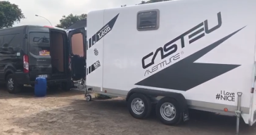 team casteu trailer